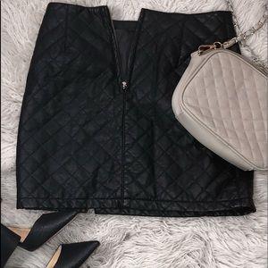 FOREVER 21 Quilted Miniskirt